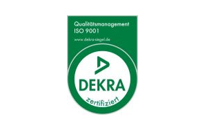 Wir sind DEKRA-zertifiziert
