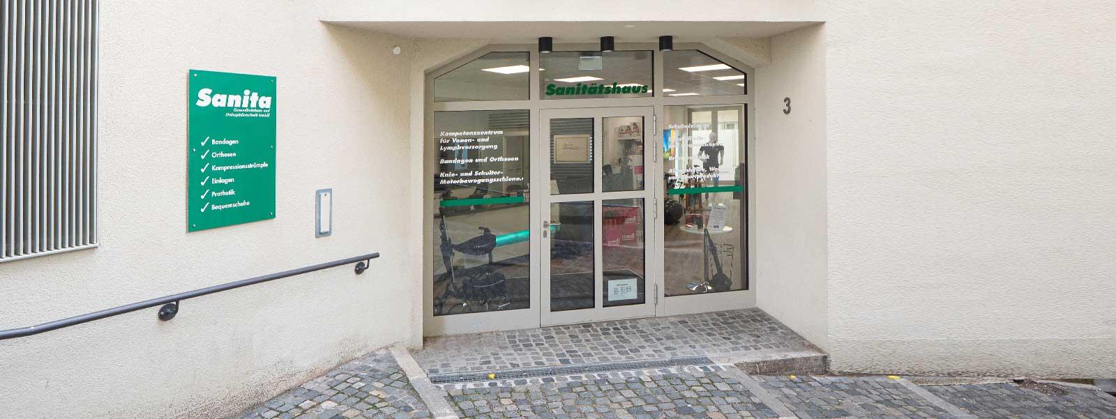 Kontakt ztum Sanita Gesundheitshaus in Augsburg