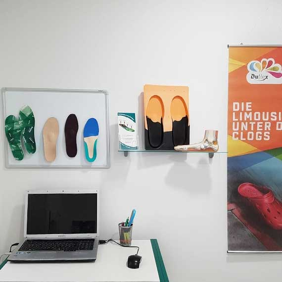 Orthopädietechnik: Orthopädische Schuheinlagen